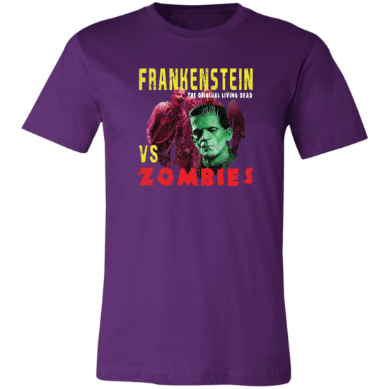 Frankenstein vs Zombies 3001C Unisex T-Shirt