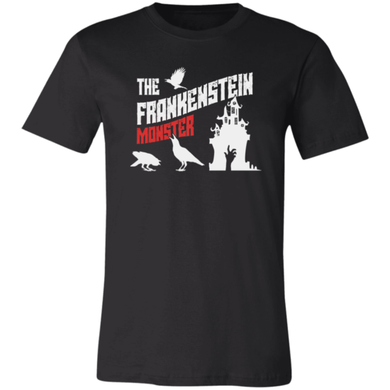 Frankenstein's Monster Book Cover 3001C Unisex T-Shirt