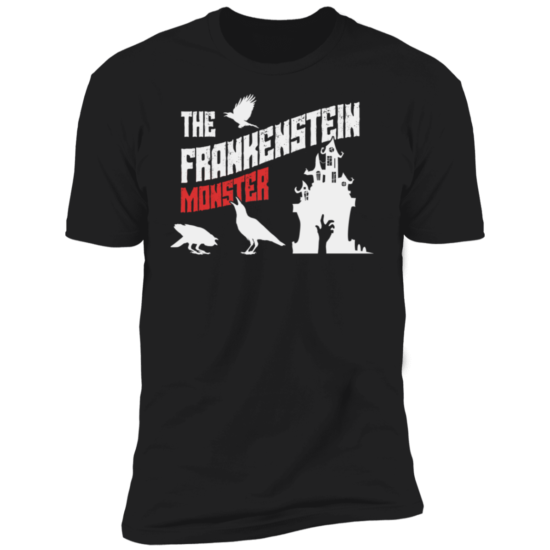 Frankenstein's Monster Book Cover NL3600 T-Shirt